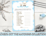 Baby Shower Lamb The PRICE IS RIGHT game, baby boy blue theme sheep printable, digital files Jpg Pdf, instant download - fa001