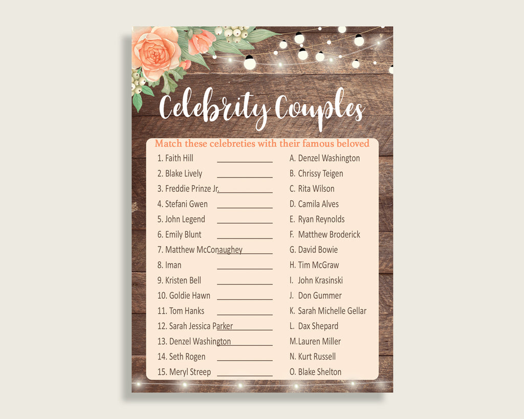 Celebrity Couples Bridal Shower Celebrity Couples Rustic Bridal Shower Celebrity Couples Bridal Shower Flowers Celebrity Couples Brown SC4GE