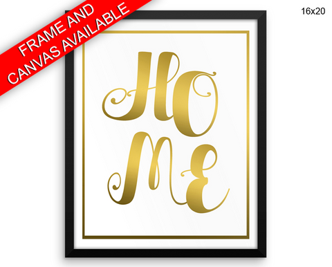 Home Print, Beautiful Wall Art with Frame and Canvas options available Family Decor