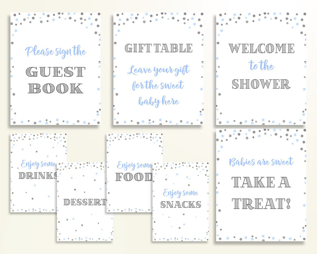 Table Signs Baby Shower Table Signs Blue And Silver Baby Shower Table Signs Blue Silver Baby Shower Blue And Silver Table Signs OV5UG - Digital Product