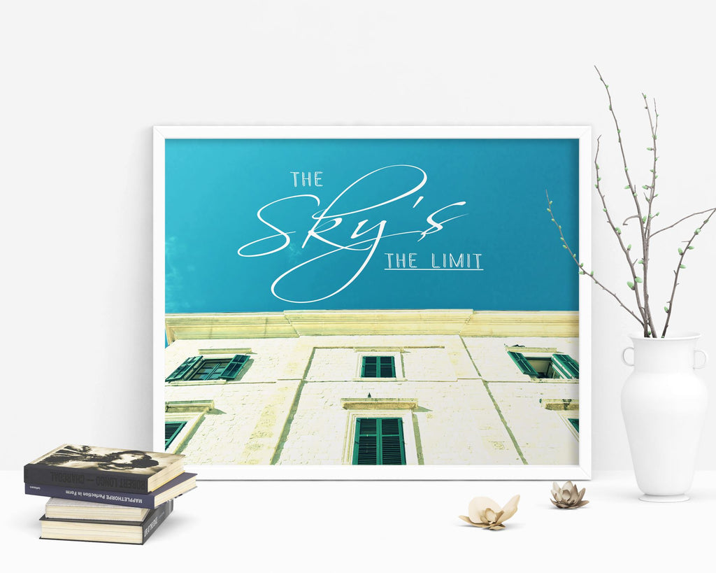 Wall Art Limit Digital Print Sky Poster Art Limit Wall Art Print Sky Photography Art Sky Photography Print Limit Wall Decor Limit Landscape - Digital Download