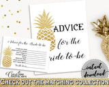 Advice For The Bride To Be Bridal Shower Advice For The Bride To Be Pineapple Bridal Shower Advice For The Bride To Be Bridal Shower 86GZU - Digital Product