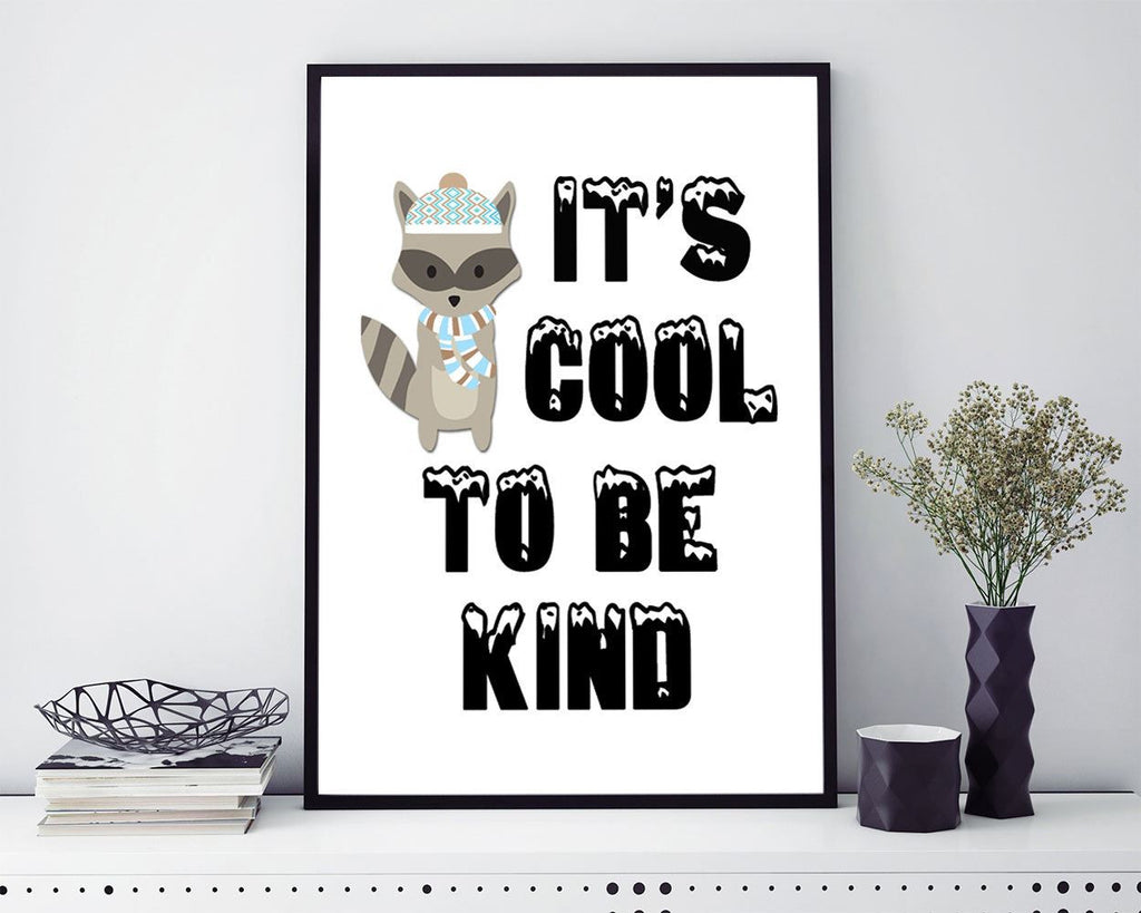 Wall Art Kindness Digital Print Cool Poster Art Kindness Wall Art Print Cool Kids Art Cool Kids Print Kindness Wall Decor Kindness - Digital Download