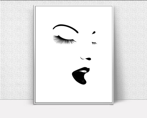 Wall Decor Makeup Printable Makeup Prints Makeup Sign Makeup Beauty Art Makeup Beauty Print Makeup Printable Art Makeup Makeup Art - Digital Download