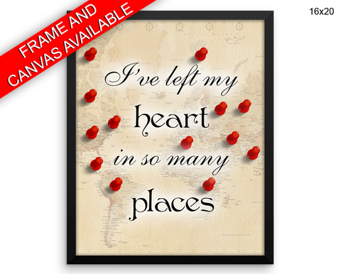 Traveller Travelling Print, Beautiful Wall Art with Frame and Canvas options available  Decor
