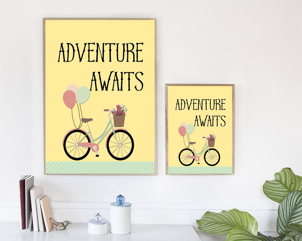 Wall Art Adventure Digital Print Adventure Poster Art Adventure Wall Art Print Adventure Kids Art Adventure Kids Print Adventure Wall Decor - Digital Download