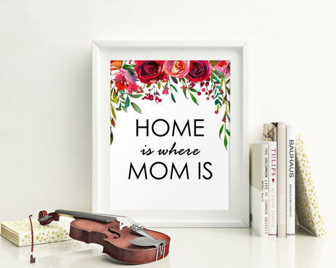 Wall Art Gift For Mom Digital Print Gift For Mom Poster Art Gift For Mom Wall Art Print Gift For Mom  Wall Decor Gift For Mom Birthday Gift - Digital Download