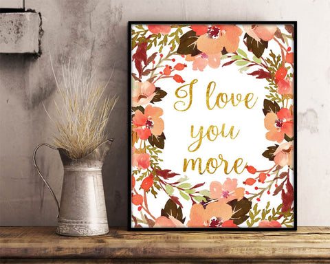 Wall Art Child Digital Print Child Poster Art Child Wall Art Print Child Nursery Art Child Nursery Print Child Wall Decor Child i love you - Digital Download