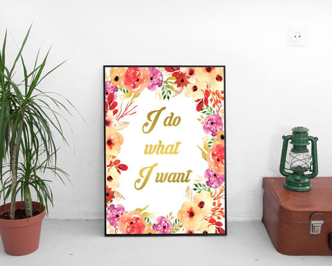 Wall Art Selfish Digital Print Selfish Poster Art Selfish Wall Art Print Selfish Stubborn Art Selfish Stubborn Print Selfish Wall Decor - Digital Download