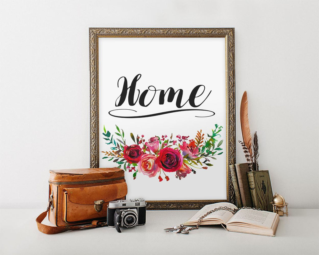 Wall Art Home Sign Digital Print Home Sign Poster Art Home Sign Wall Art Print Home Sign Home Art Home Sign Home Print Home Sign Wall Decor - Digital Download