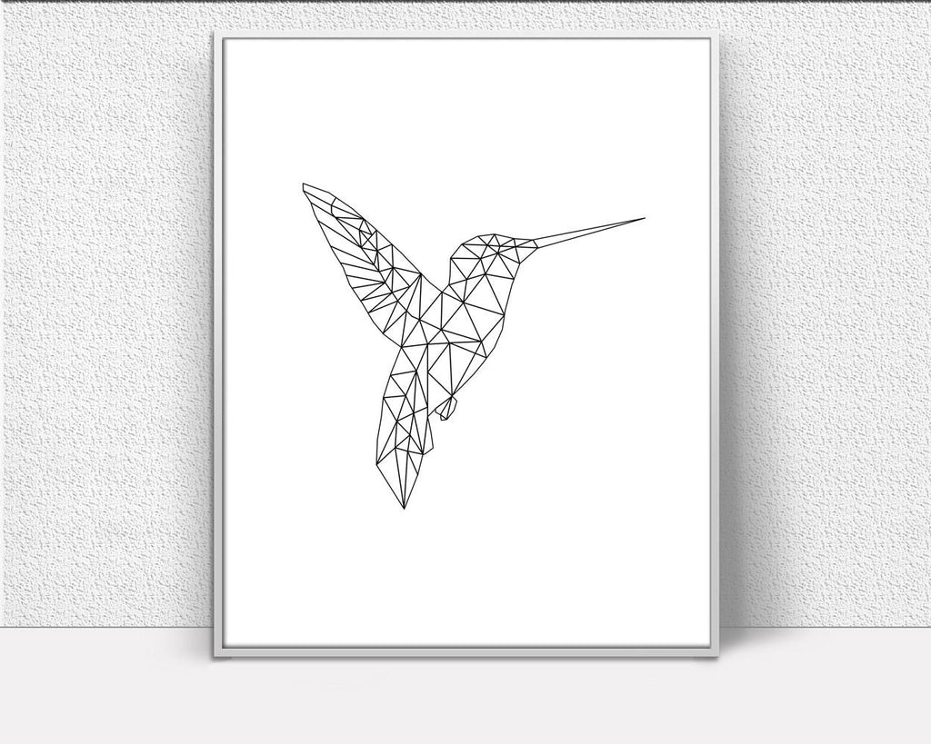 Wall Decor Hummingbird Printable Hummingbird Prints Hummingbird Sign Hummingbird Animal Art Hummingbird Animal Print Hummingbird Printable - Digital Download