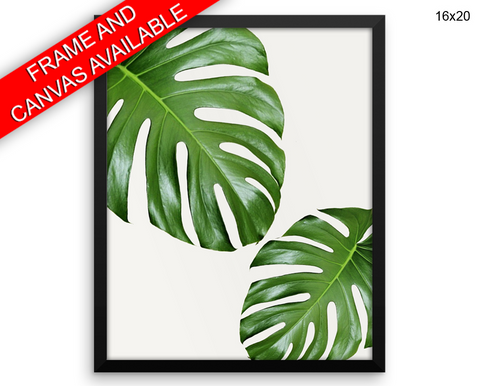 Leaf Print, Beautiful Wall Art with Frame and Canvas options available Home Decor