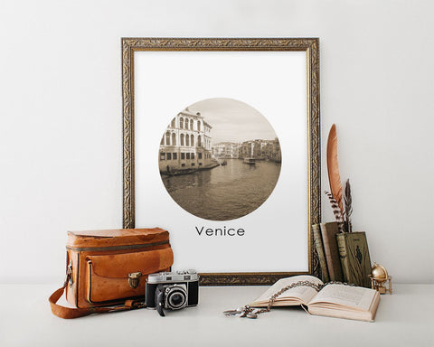 Wall Art Italy Digital Print Venice Poster Art Italy Wall Art Print Venice City Art Venice City Print Italy Wall Decor Italy Geometric - Digital Download