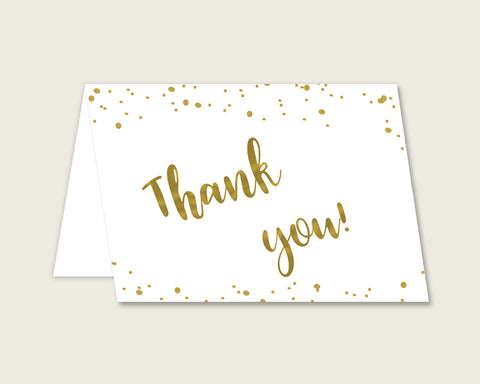 Thank You Card Bridal Shower Thank You Card Gold Bridal Shower Thank You Card Bridal Shower Gold Thank You Card Gold White pdf jpg G2ZNX