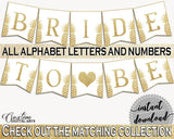 Banner Bridal Shower Banner Pineapple Bridal Shower Banner Bridal Shower Pineapple Banner Gold White party organizing, party plan 86GZU - Digital Product