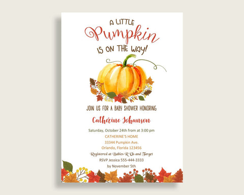 invitation baby shower invitation fall baby shower invitation baby