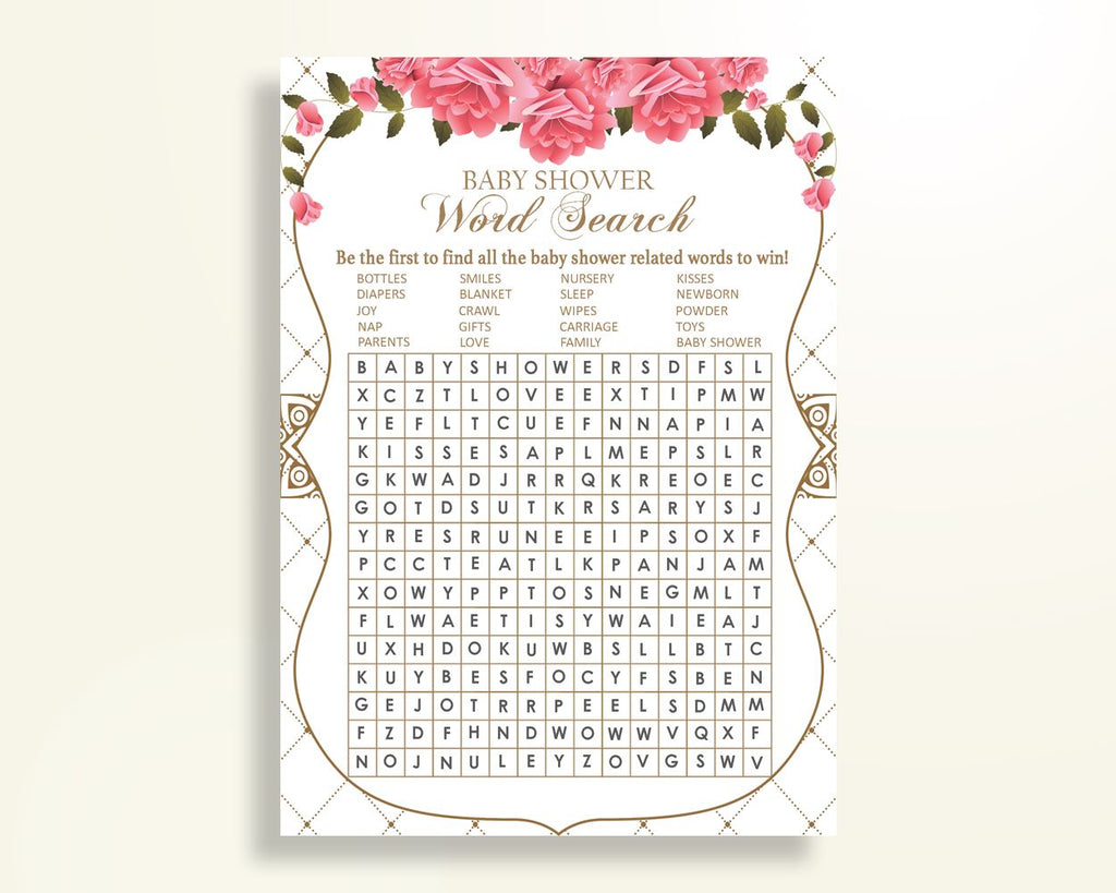 picture relating to Printable Baby Shower Word Search known as Term Seem Youngster Shower Phrase Glance Roses Boy or girl Shower Phrase Glance Youngster Shower Roses Phrase Glance Crimson White paper resources pdf jpg U3FPX - Electronic