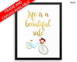Life Print, Beautiful Wall Art with Frame and Canvas options available Wisdom Decor