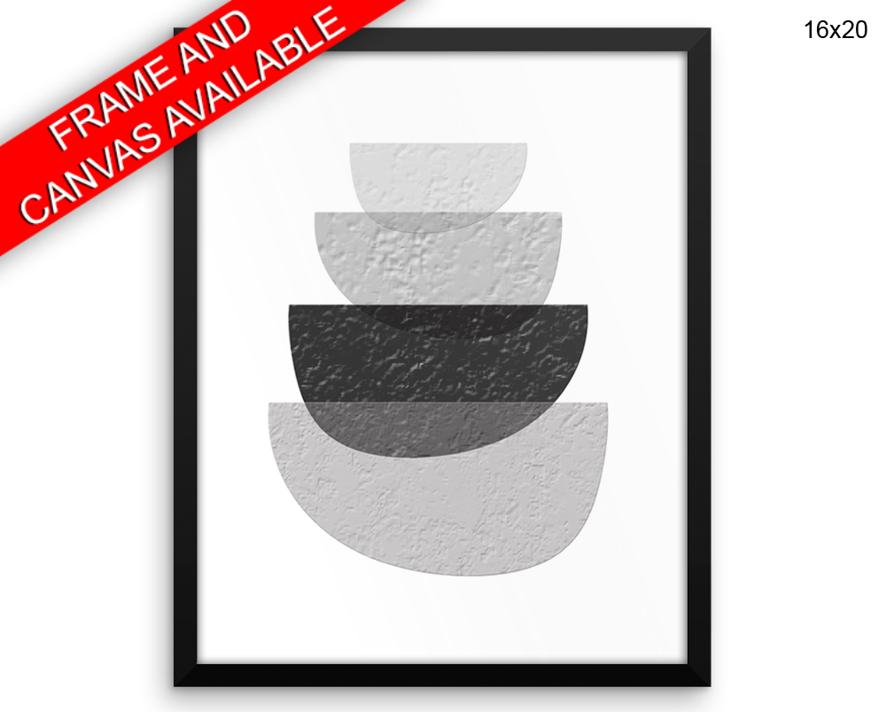 Scandinavian Artsy Print, Beautiful Wall Art with Frame and Canvas options available  Decor