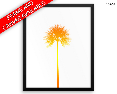 Summertime Print, Beautiful Wall Art with Frame and Canvas options available Summer Decor
