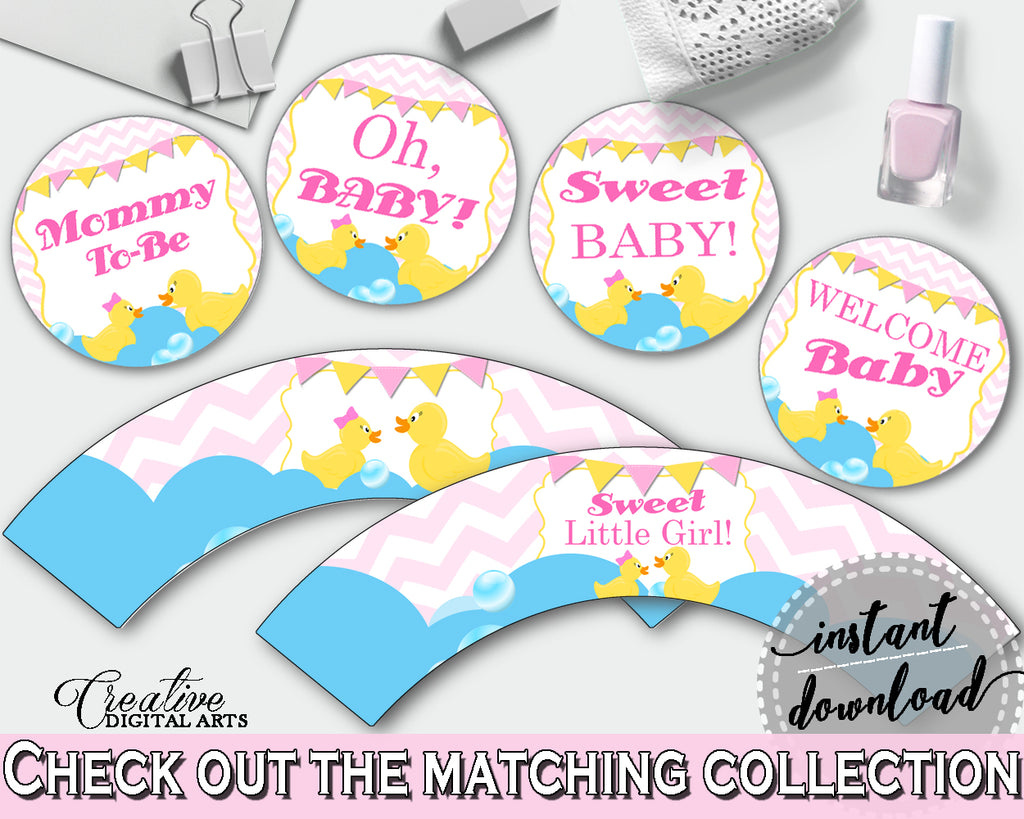 Cupcake Toppers And Wrappers Baby Shower Cupcake Toppers And Wrappers Rubber Duck Baby Shower Cupcake Toppers And Wrappers Baby Shower rd001