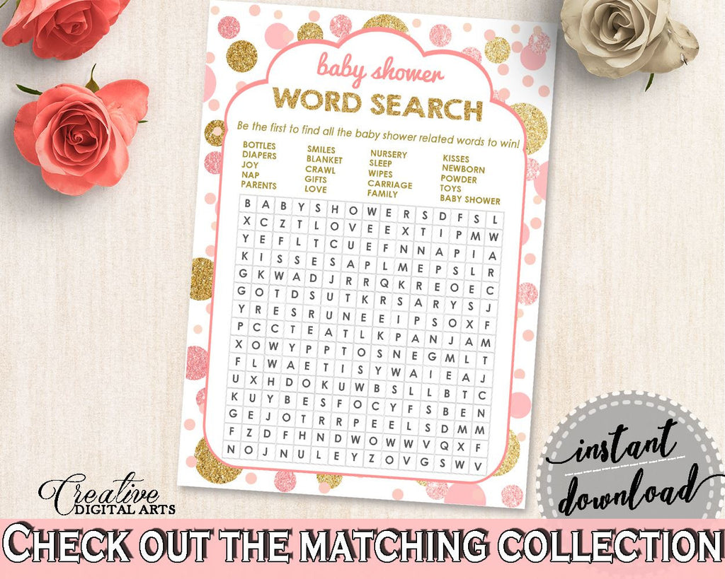 photo relating to Baby Shower Word Search Printable known as Red Gold Phrase Look, Little one Shower Term Appear, Dots Boy or girl Shower Term Appear, Boy or girl Shower Dots Term Look printable data files - RUK83 - Electronic Solution