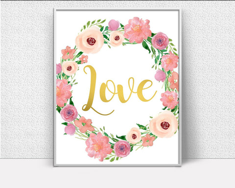 Wall Art Romantic Digital Print Romantic Poster Art Romantic Wall Art Print Romantic Love Art Romantic Love Print Romantic Wall Decor - Digital Download