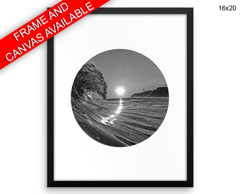 Beach Sunset Print, Beautiful Wall Art with Frame and Canvas options available  Decor