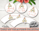 Cupcake Toppers And Wrappers Bridal Shower Cupcake Toppers And Wrappers Tribal Bridal Shower Cupcake Toppers And Wrappers Bridal 9ENSG - Digital Product