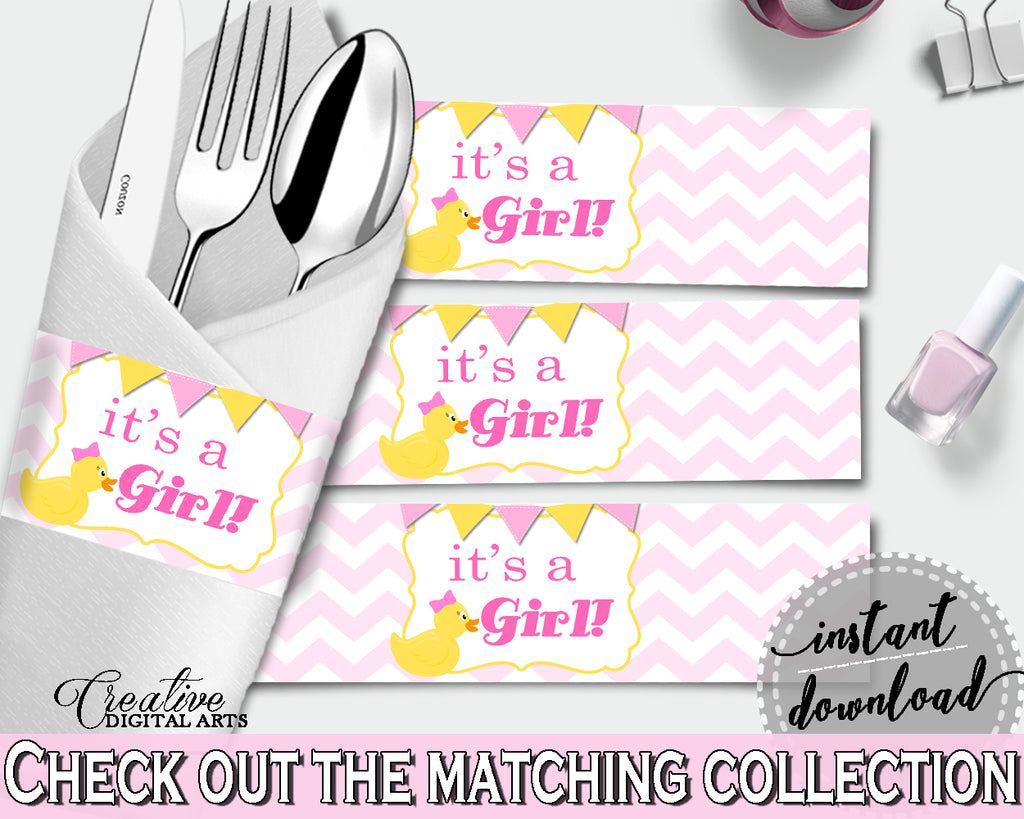 Napkin Rings Baby Shower Napkin Rings Rubber Duck Baby Shower Napkin Rings Baby Shower Rubber Duck Napkin Rings Purple Pink pdf jpg rd001