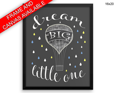 Little One Print, Beautiful Wall Art with Frame and Canvas options available Nursery Decor