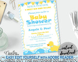 Baby Shower Animal Baby Shower Pretty Request Attendance INVITATION, Printables, Party Organising, Party Ideas - rd002 - Digital Product