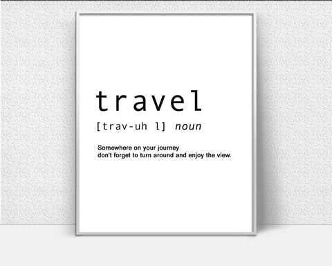 Wall Decor Travelling Printable Travelling Prints Travelling Sign Travelling Travel Art Travelling Travel Print Travelling Printable Art - Digital Download