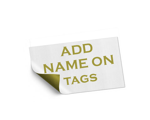Add On listing only for edit name on tags - digital file