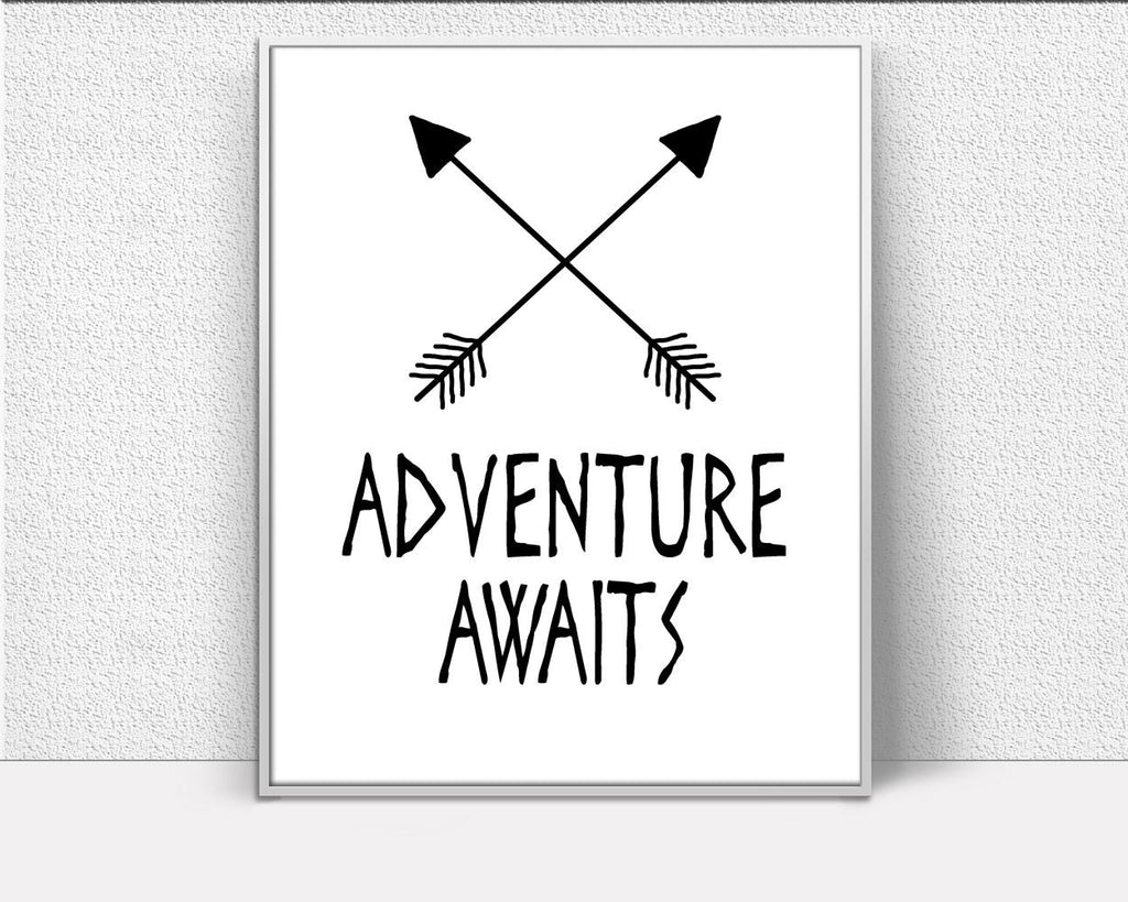 Adventure Prints Wall Art Adventure Digital Download Adventure Kids Art Adventure Kids Print Adventure Instant Download Adventure Frame And - Digital Download