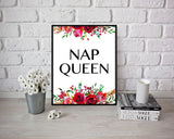 Wall Art Nap Queen Digital Print Nap Queen Poster Art Nap Queen Wall Art Print Nap Queen Bedroom Art Nap Queen Bedroom Print Nap Queen Wall - Digital Download