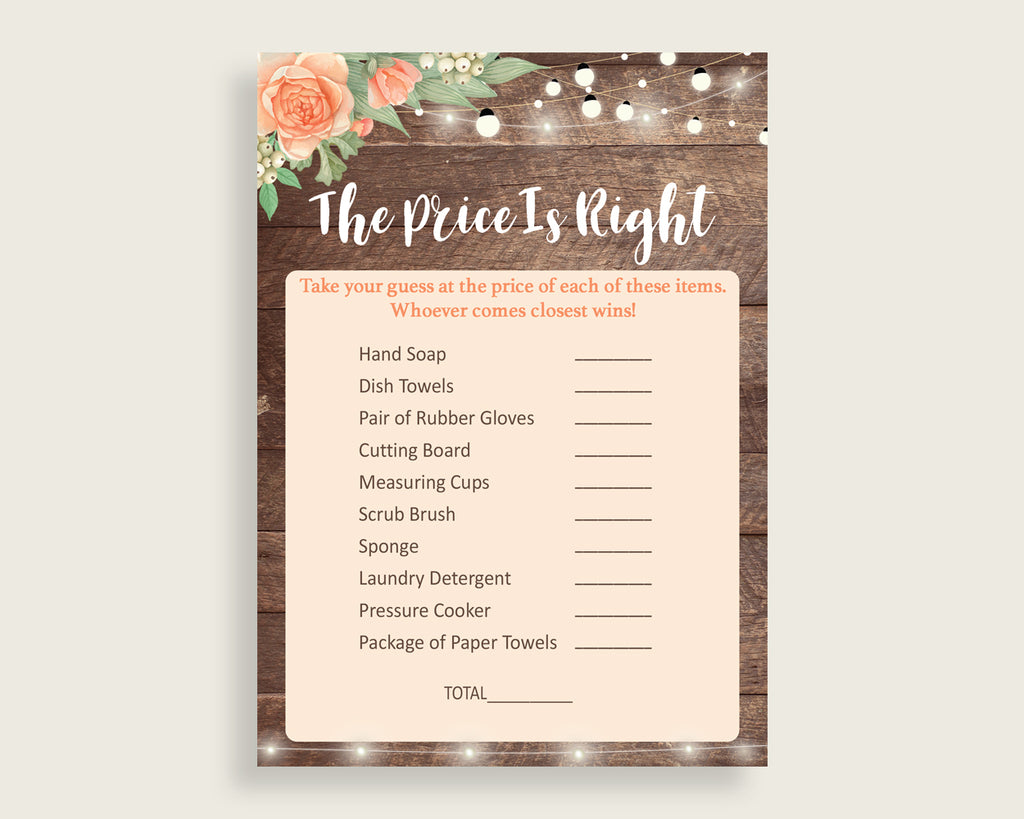 Price Is Right Bridal Shower Price Is Right Rustic Bridal Shower Price Is Right Bridal Shower Flowers Price Is Right Brown Beige party SC4GE