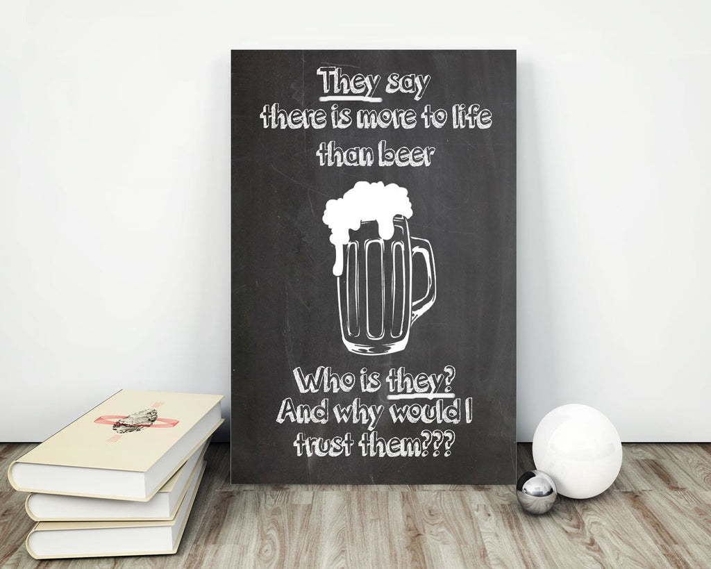 Wall Art Beer Digital Print Beer Poster Art Beer Wall Art Print Beer Bar Art Beer Bar Print Beer Wall Decor Beer chalkboard beer - Digital Download