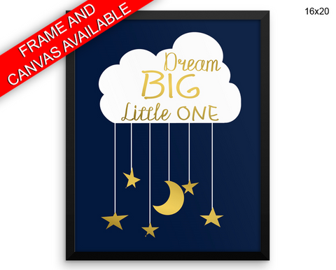 Kids Room Print, Beautiful Wall Art with Frame and Canvas options available  Decor