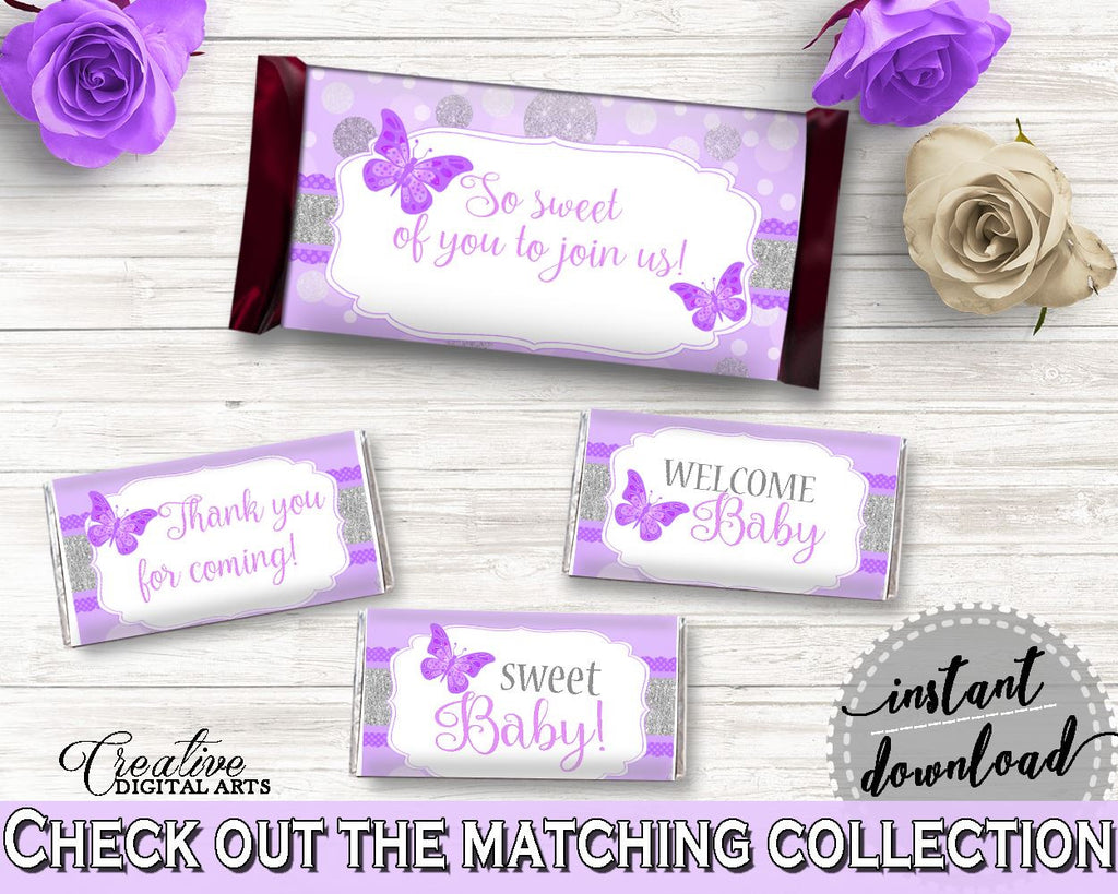 Candy Decorations Baby Shower Candy Decorations Butterfly Baby Shower Candy Decorations Baby Shower Butterfly Candy Decorations Purple 7AANK - Digital Product