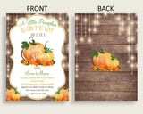 Invitation Baby Shower Invitation Autumn Baby Shower Invitation Baby Shower Autumn Invitation Brown Orange party theme party décor 0QDR3 - Digital Product