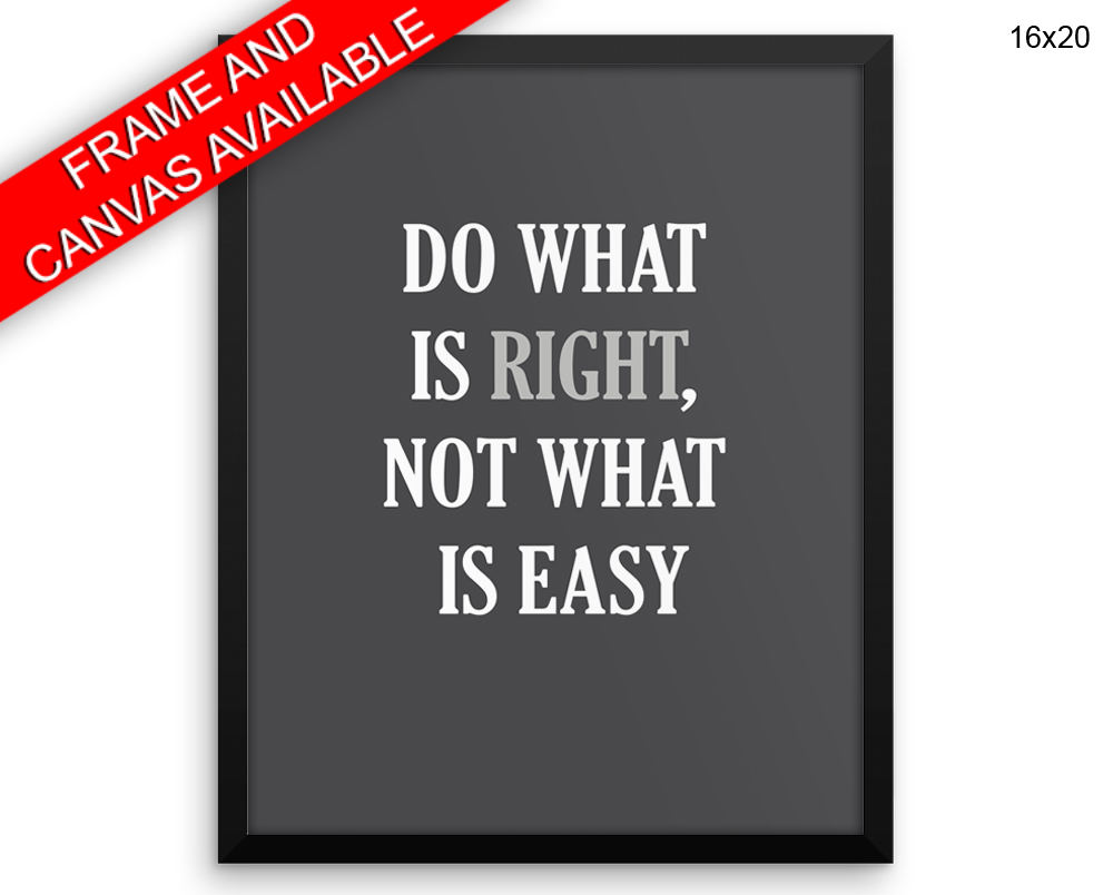 Advice Print, Beautiful Wall Art with Frame and Canvas options available Inspirational Decor
