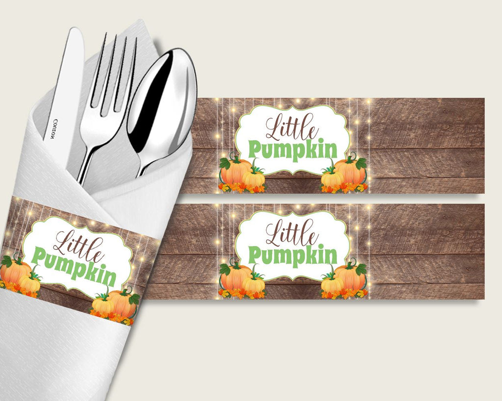 Napkin Rings Baby Shower Napkin Rings Autumn Baby Shower Napkin Rings Baby Shower Autumn Napkin Rings Brown Orange party stuff 0QDR3 - Digital Product