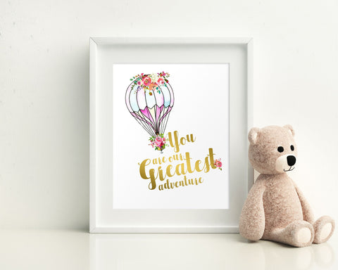 Wall Art You Are Our Greatest Adventure Digital Print You Are Our Greatest Adventure Poster Art You Are Our Greatest Adventure Wall Art - Digital Download