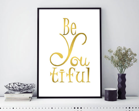 Wall Art Beautiful Digital Print Beautiful Poster Art Beautiful Wall Art Print Beautiful Beauty Art Beautiful Beauty Print Beautiful Wall - Digital Download