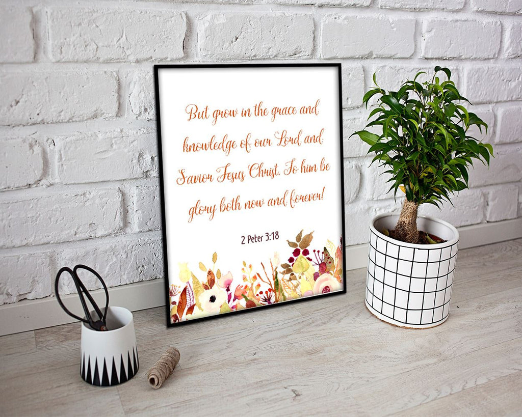 Scripture Prints Wall Art Peter Digital Download Scripture Bible Art Peter Bible Print Scripture Instant Download Peter Frame And Canvas - Digital Download