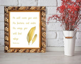 Wall Art Psalm Digital Print Psalm Poster Art Psalm Wall Art Print Psalm Bible Art Psalm Bible Print Psalm Wall Decor Psalm Psalm 91 4 - Digital Download