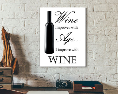 Wall Art Wine Digital Print Wine Poster Art Wine Wall Art Print Wine Bar Art Wine Bar Print Wine Wall Decor Wine funny print bartender print - Digital Download