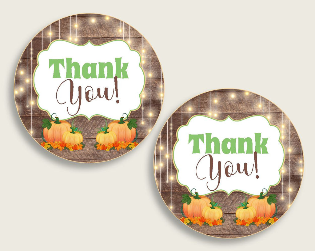 Favor Tags Baby Shower Favor Tags Autumn Baby Shower Favor Tags Baby Shower Autumn Favor Tags Brown Orange party stuff party theme 0QDR3 - Digital Product