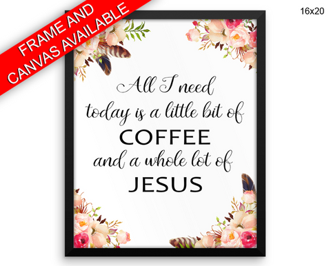 Jesus Print, Beautiful Wall Art with Frame and Canvas options available Worship Decor